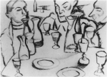 Achille Funi, Osteria (1916).jpg